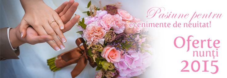Oferta Nunți 2015 la Hotel Prahova Plaza