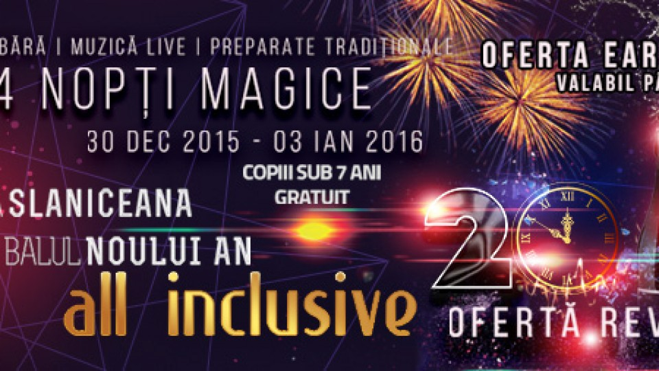 Revelion 2016 All Inclusive – Baia Roșie Resort
