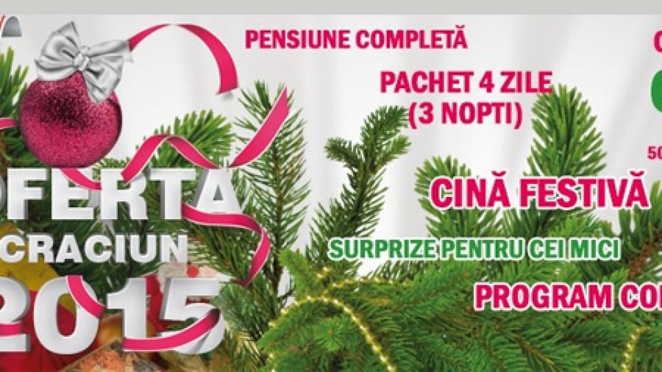 Ofertă Crăciun 2015 la Baia Roșie Resort
