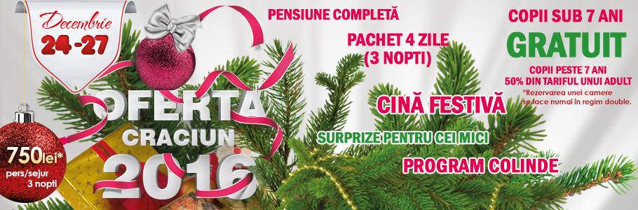 Crăciun 2016 la Baia Roșie Resort