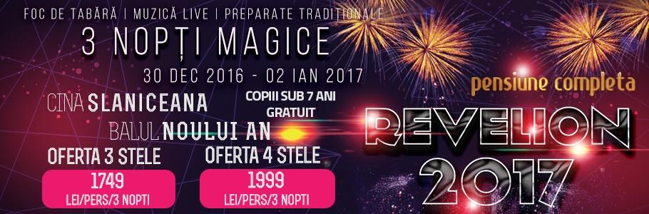 Revelion 2017 la Baia Roșie Resort